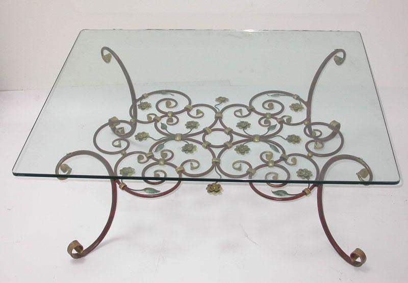 Fabbro Zino ferro battuto artistico - Tavolino da salotto