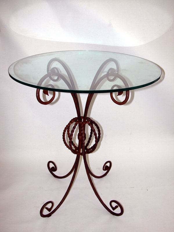 Tavolino Salotto Ferro Battuto.Fabbro Zino Ferro Battuto Artistico Tavolino Da Salotto