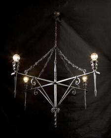 Lampadario a sospensione 4 luci